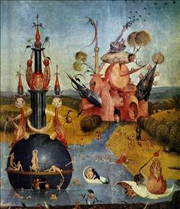 Triptych of Garden of Earthly Delights