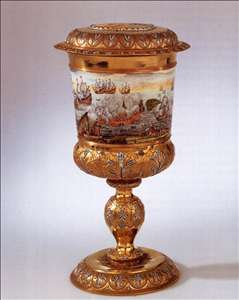 Covered goblet