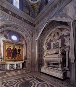 View of the Chapel of the Cardinal of Portugal