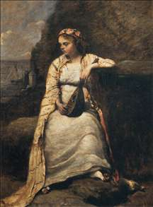 Haydée, Young Woman in Greek Dress