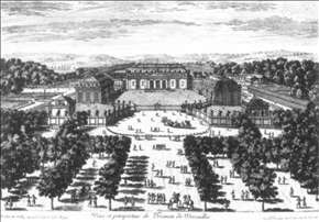 View and Perspective of the Trianon at Versailles