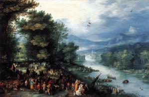 Landscape with the Young Tobias