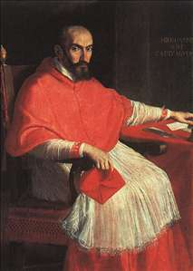 Portrait of Cardinal Agucchi
