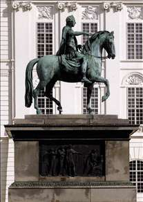 Equestrian statue of the Emperor Joseph II