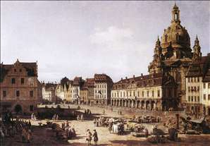 New Market Square in Dresden