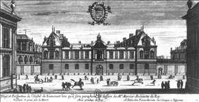 View and Perspective of the Hôtel de Liancourt