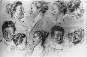 Studies of Women's Heads