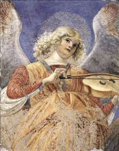 Music-making Angel