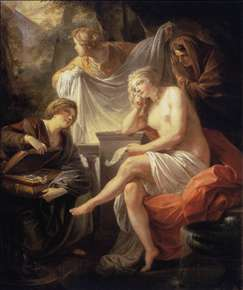 Bathsheba at the Bath