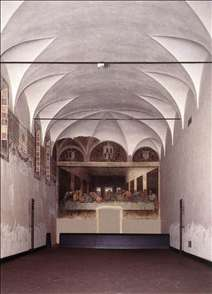 The Refectory with the Last Supper after restoration